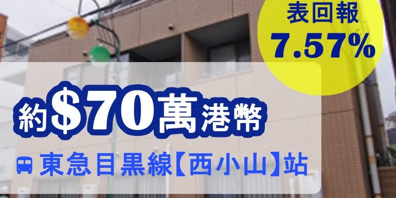 東急目黒線【西小山】站