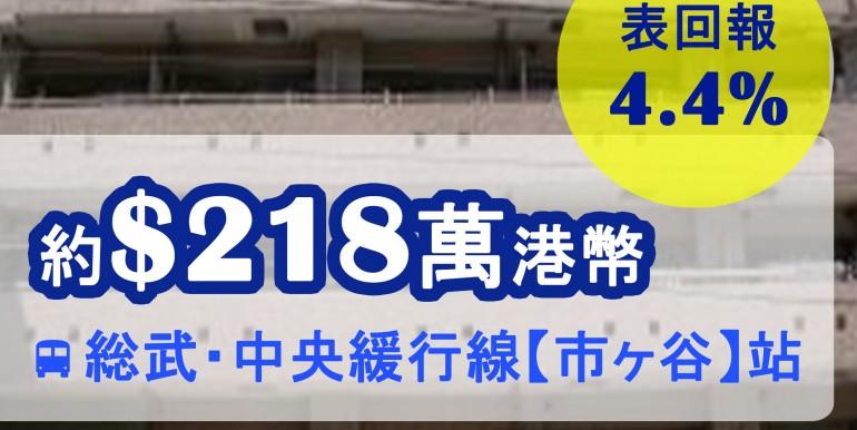 総武・中央緩行線【市ヶ谷】站