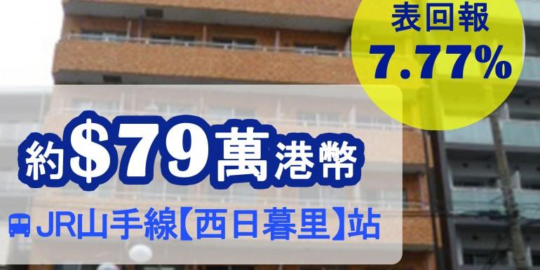 JR山手線【西日暮里】站