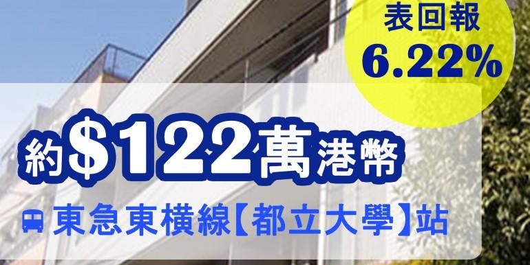 東急東横線【都立大學】站