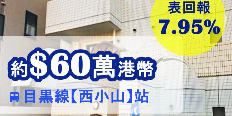 目黒線【西小山】站