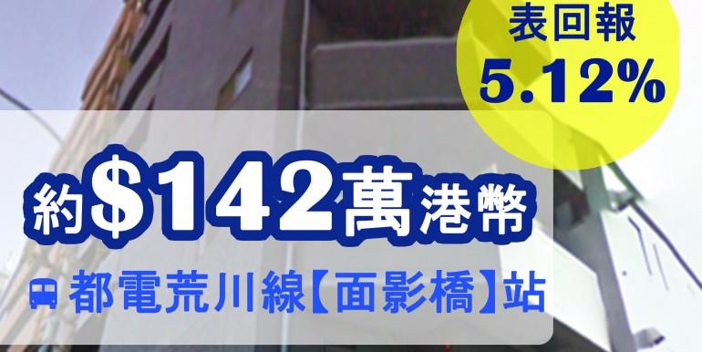 都電荒川線【面影橋】站