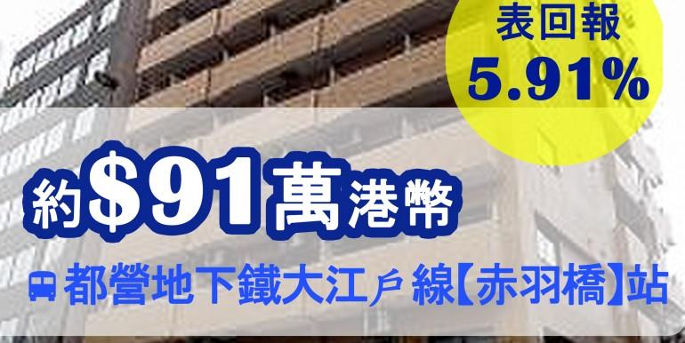 都營地下鐵大江戶線【赤羽橋】站