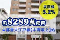 都営大江戸線【中野坂上】站