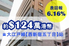 大江戸線【西新宿五丁目】站